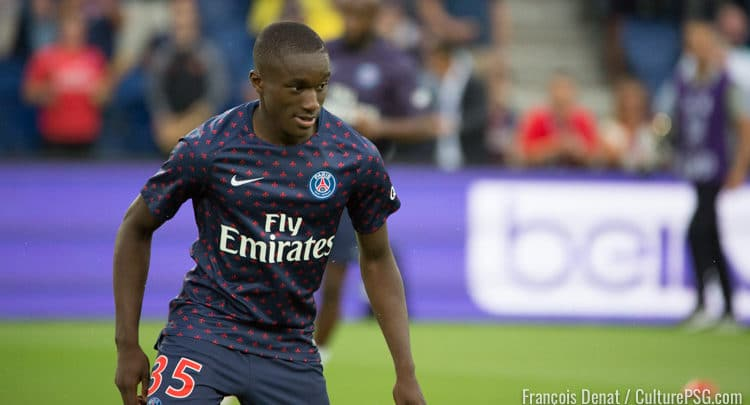 Maillot Extérieur PSG Moussa DIABY